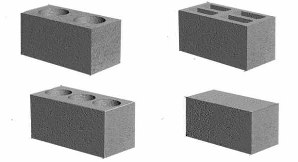размер блока шлакоблока