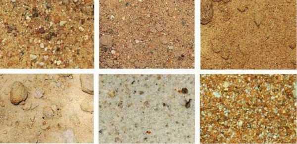 объемный вес песка